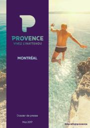 Contrat Destination Provence _ Dossier de presse_ Montréal _ 2017