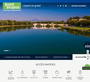 Nouveau site du Grand Avignon